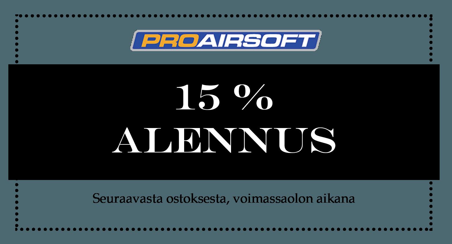 Proairsoft Coupon Ad