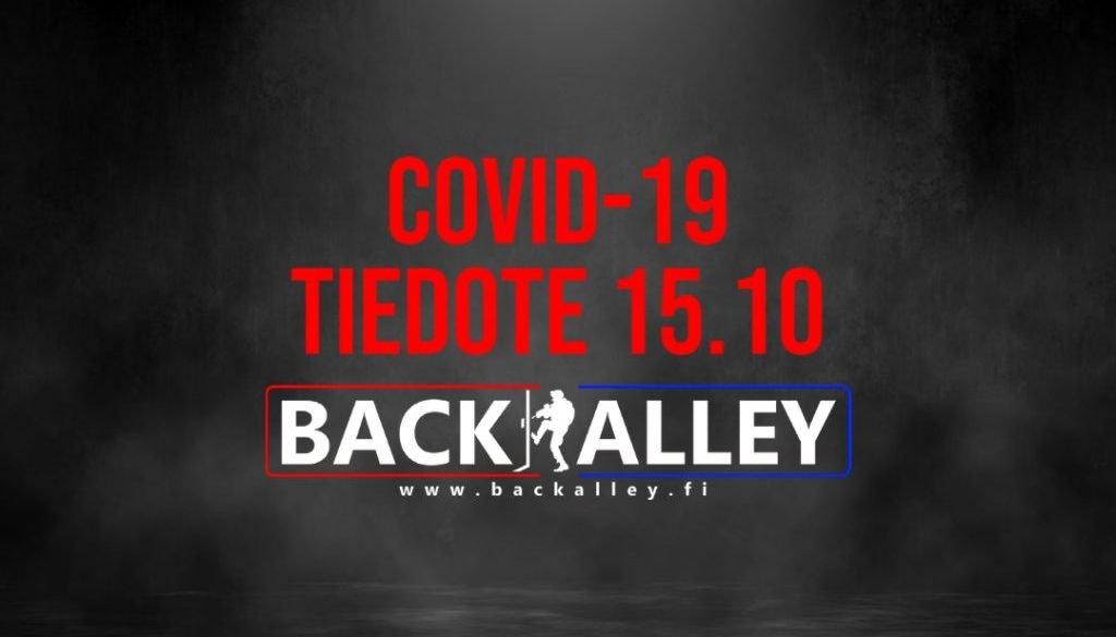 Covid-19 tiedote